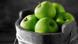 Корзина яблок при сахорном диабете