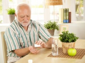 Прием таблеток во время еды