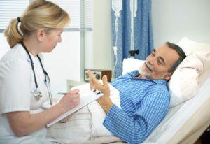 Под постоянным контролем врача