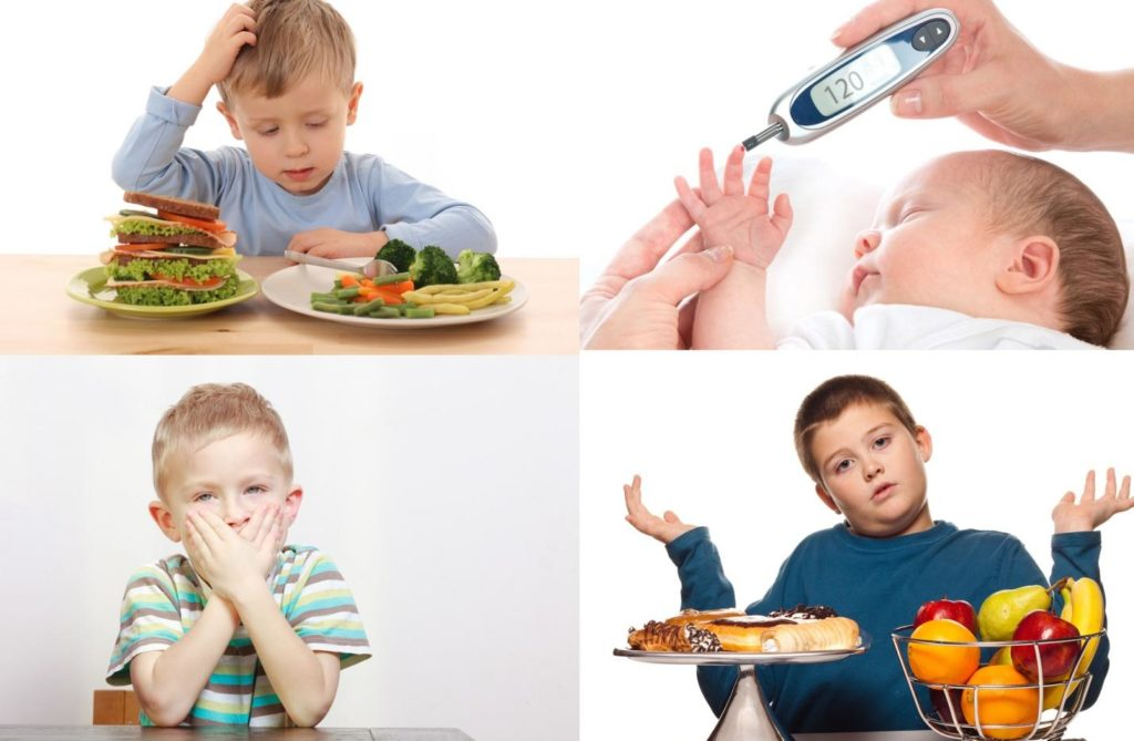 Клинические симптомы сахарного диабета у детей по возрасту