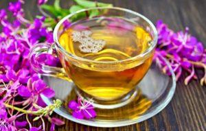 Чай с ромашкой и кипреем