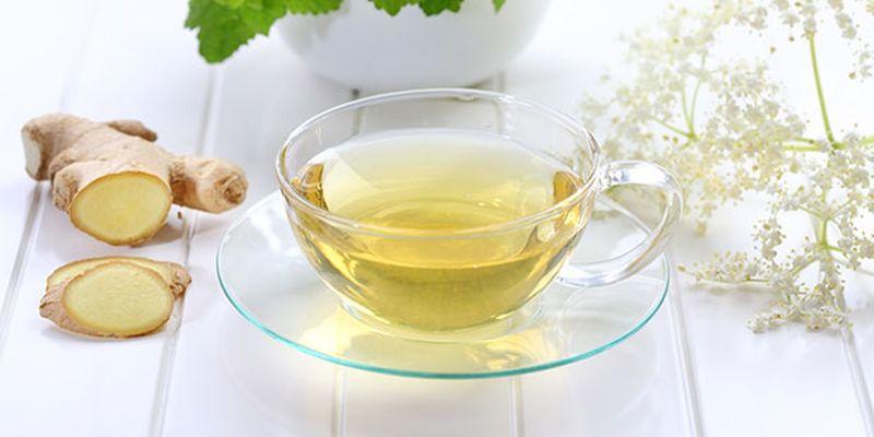 Чистый имбирный чай