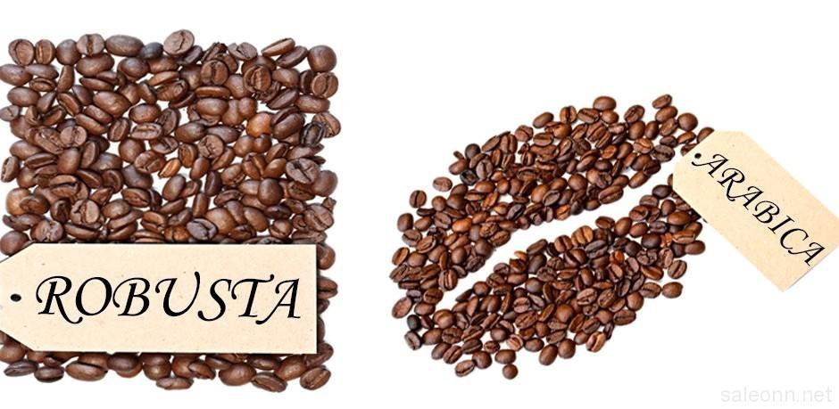 Кофе из зерен робусты