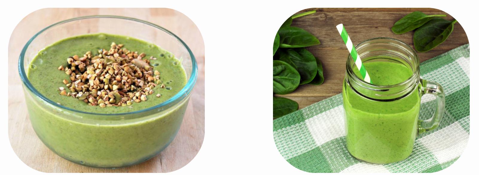 Коктейль из зеленой гречки