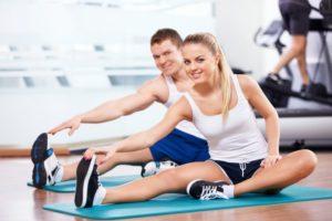 Занятия физкультурными упражнениями