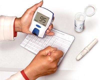 Записывать в дневник показания глюкометра