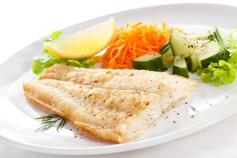 Белая диетическая рыба