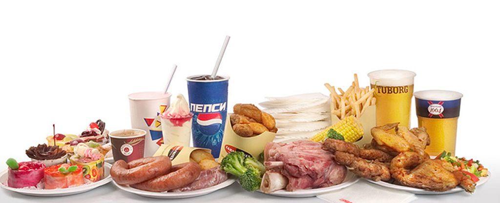Снизить потребление высококалорийных продуктов