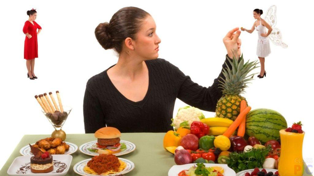 Соблюдение правильной диеты
