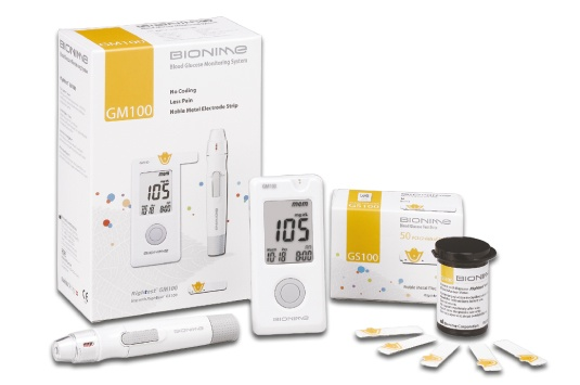 Бионайм глюкометр