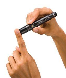 Ручка-прокалыватель