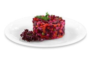 Винегрет — вкусный и полезный салат для диабетиков