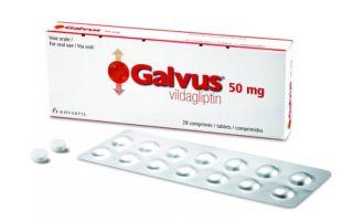 Галвус — инструкция по применению, ответы на частые вопросы о лекарстве