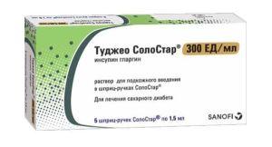 Туджео Солостар — новый эффективный базальный инсулин длительного действия, отзывы
