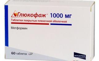 Глюкофаж — фармакология и применение препарата