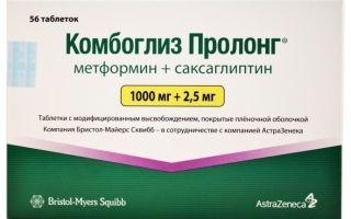 Комбинированный американский препарат Комбоглиз пролонг