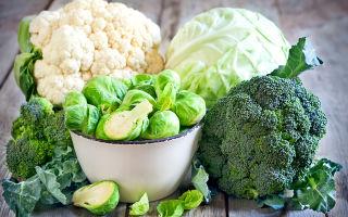 Использование в питании капусты  при диабете