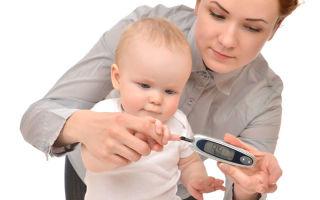 Как развивается сахарный диабет у детей?