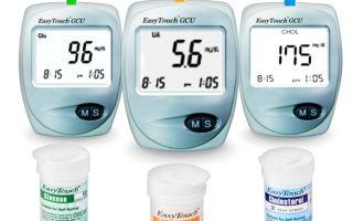 Подробное описание анализатора крови Easytouch gchb