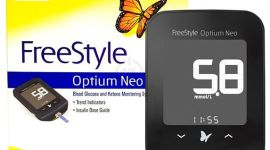 Прибор для контроля уровня сахара в крови Freestyle optium