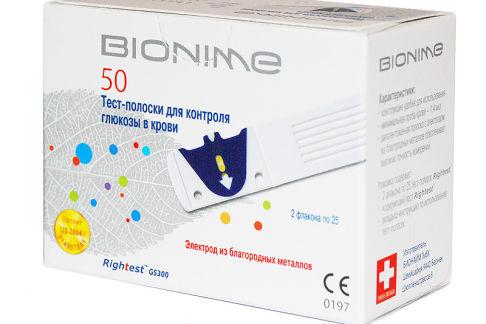 Точность анализа с тест-полосками Бионайм
