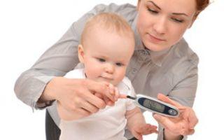 Допустимая норма сахара в крови у детей