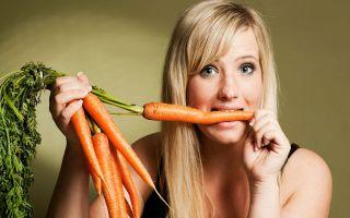 Правила употребления и приготовления морковки при СД 2 типа