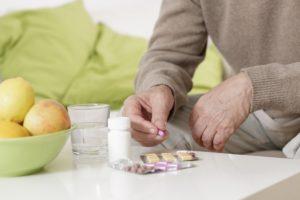 Прием таблеток после еды