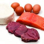 Снижение количества белковых продуктов