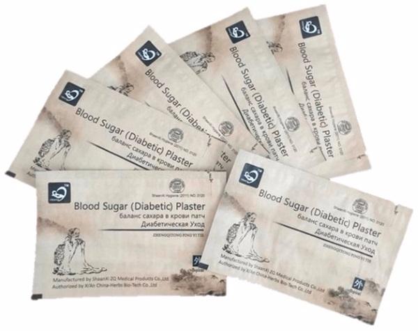 КИТАЙСКИЙ ПЛАСТЫРЬ от сахарного диабета - польза и отзывы