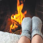 Держать ноги в тепле