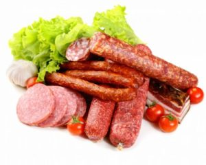 Колбаса, мясные деликатесы