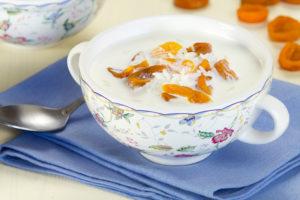 Молочный суп из риса