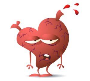Нельзя употреблять корень при заболеваниях сердца