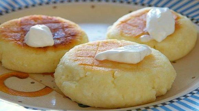 Печеные сырники