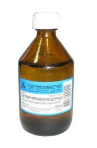 Перекиси водорода раствор