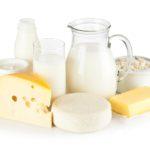 Жирные молочные продукты
