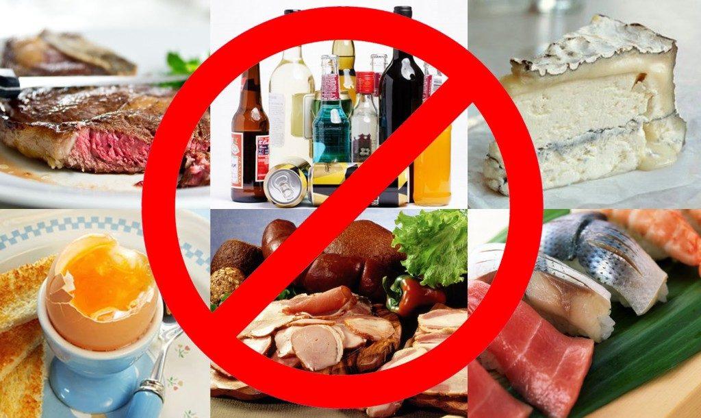 Исключить жирную, острую и жареную пищу