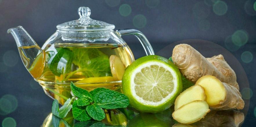 Напиток с лимоном и лаймом
