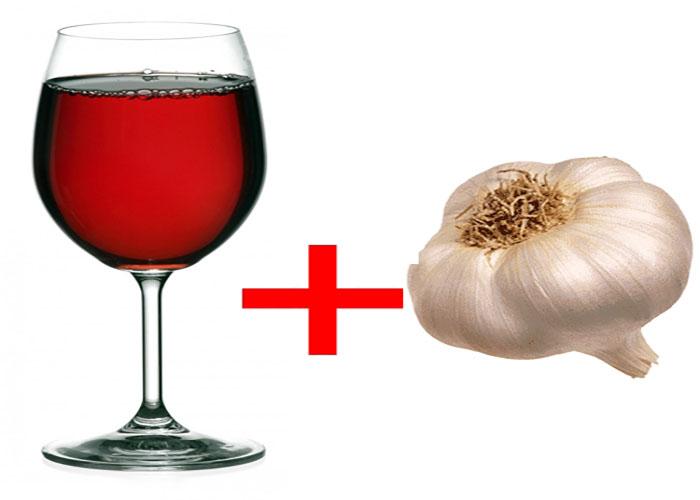 Настойка из красного вина