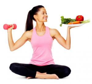 Диета и ежедневные упражнения