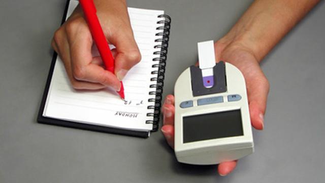 Записи контроля уровня глюкозы