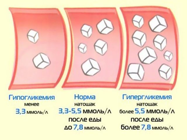 Норма сахара натощак