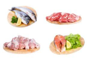 Выбирать только диетическое мясо и рыбу