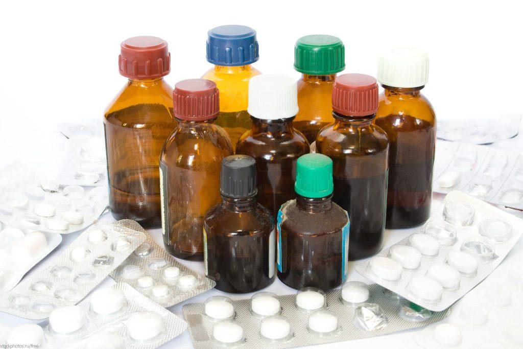 Лекарства в виде раствора